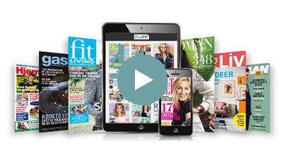 FLIPP app'en adgang til alle magasiner fra Egmont